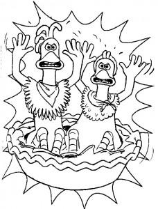 målarbok Chicken Run (36)