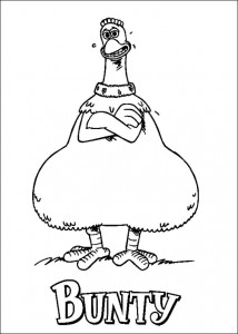 målarbok Chicken Run (38)