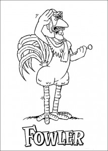 coloring page Chicken Run (39)
