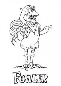 målarbok Chicken Run (39)
