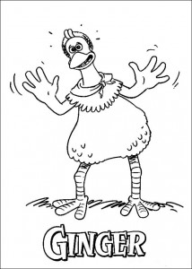 coloring page Chicken Run (40)