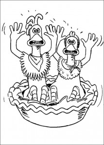 coloring page Chicken Run (43)