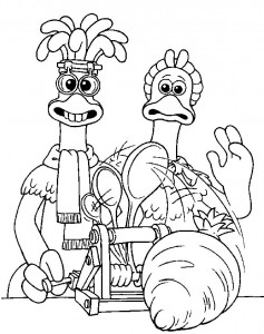 coloring page Chicken Run (7)