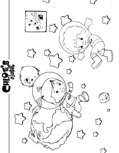 coloring page Chloes Magic cabinet (1)