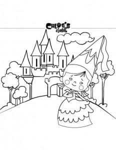 kleurplaat Chloes Toverkast (2)