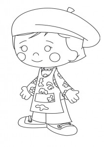 coloring page Chloes Magic cabinet (25)