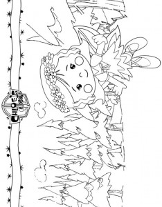 coloring page Chloes Magic cabinet (3)
