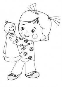 coloring page Chloes Magic cabinet (6)