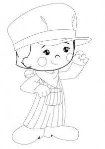 coloring page Chloes Magic cabinet (8)