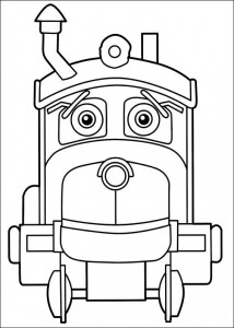 coloring page Chuggington (1)