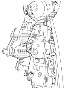 coloring page Chuggington (2)