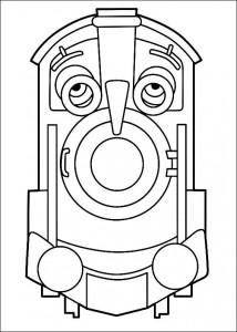 kleurplaat Chuggington (7)