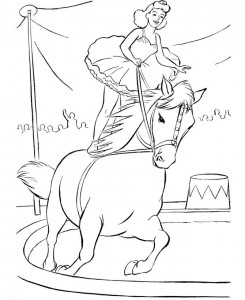 coloring page Circus (1)