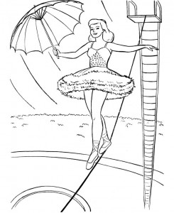 coloring page Circus (10)