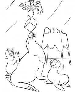 coloring page Circus (15)