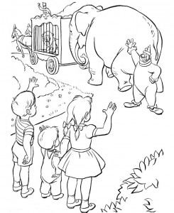 coloring page Circus (19)