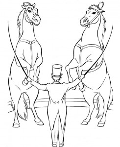 coloring page Circus (3)