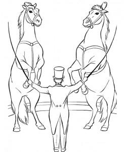 målarbok Cirkus (3)