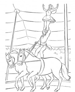 coloring page Circus (4)
