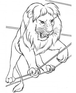 coloring page Circus (6)
