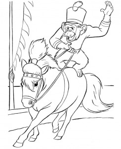 coloring page Circus (8)