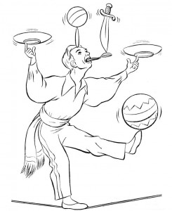 coloring page Circus (9)