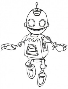 clank coloring page