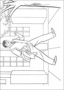 kleurplaat Clark Kent