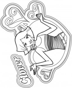 coloring page Clover (8)