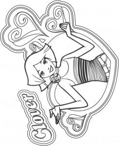 kleurplaat Clover (8)