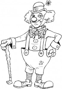 coloring page Clown (1)
