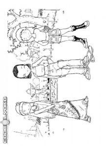 pagina da colorare Codice Lyoko (1)