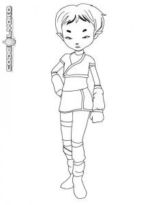 coloring page Code Lyoko (10)