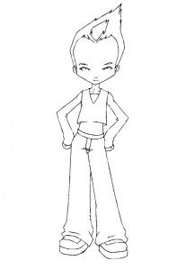 coloring page Code Lyoko (13)