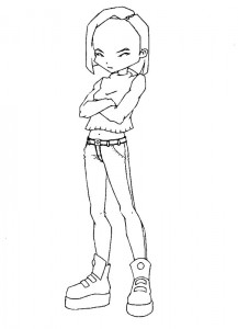 kleurplaat Code Lyoko (14)