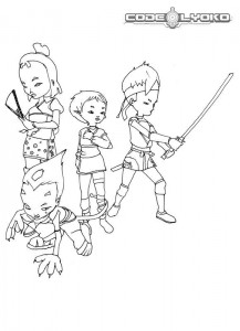 coloring page Code Lyoko (3)
