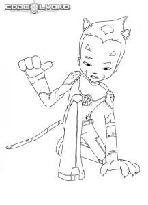 coloring page Code Lyoko (5)
