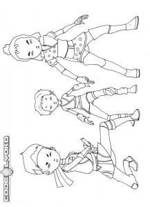 coloring page Code Lyoko (7)