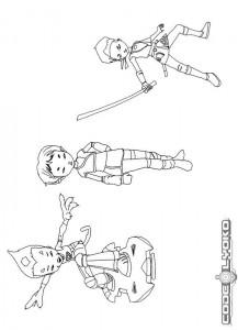 coloring page Code Lyoko (8)