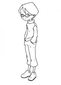 pagina da colorare Codice Lyoko (9)