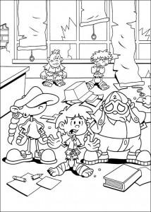 coloring page Kodenavn Kids Next Door (16)
