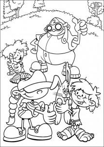 coloring page Code name Kids Next Door (24)