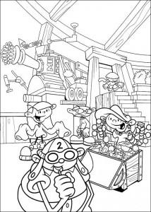 coloring page Kodenavn Kids Next Door (4)
