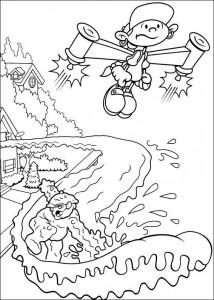 coloring page Kodenavn Kids Next Door