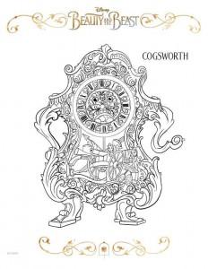 cogsworth målarbok