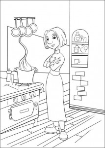 coloring page Colette (2)