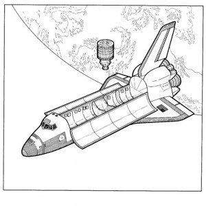 coloring page Columbia