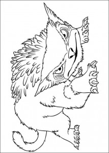 coloring page Croods (1)