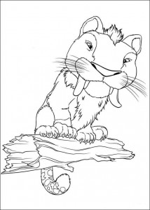 coloring page Croods (12)
