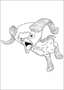 coloring page Croods (15)